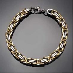Нано-Сила, мужской браслет из стали